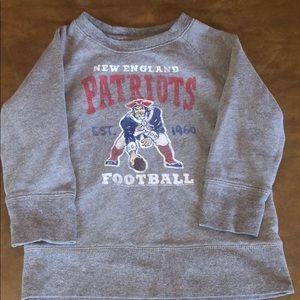 Junk Food for BabyGap Patriots Sweatshirt 4T